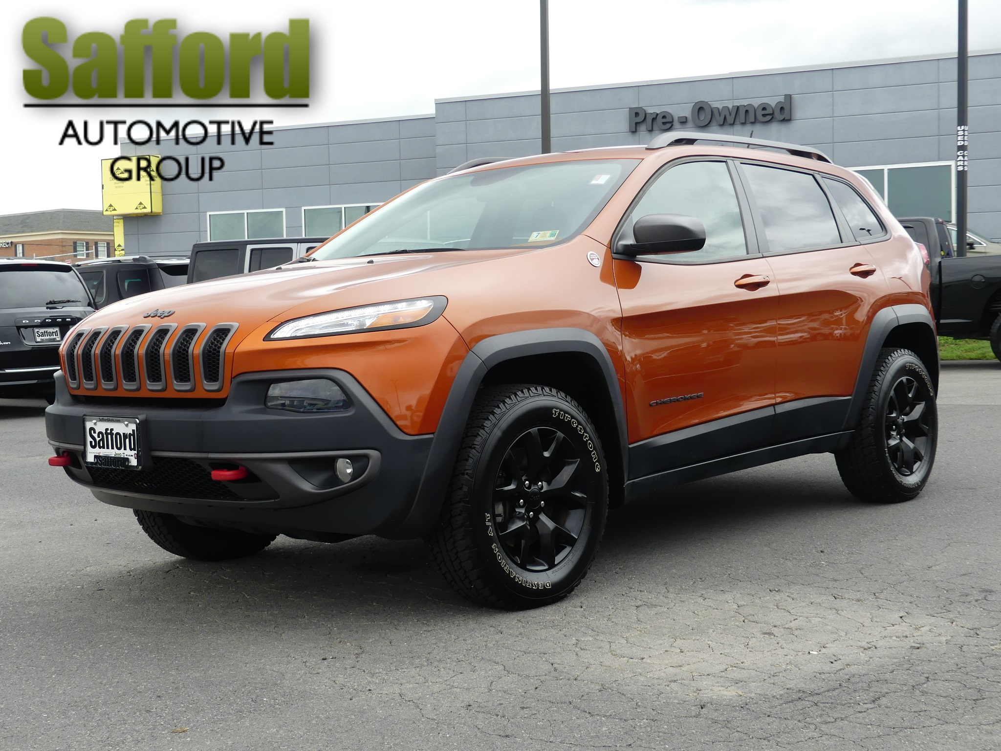 Certified Pre Owned 2015 Jeep Cherokee Trailhawk