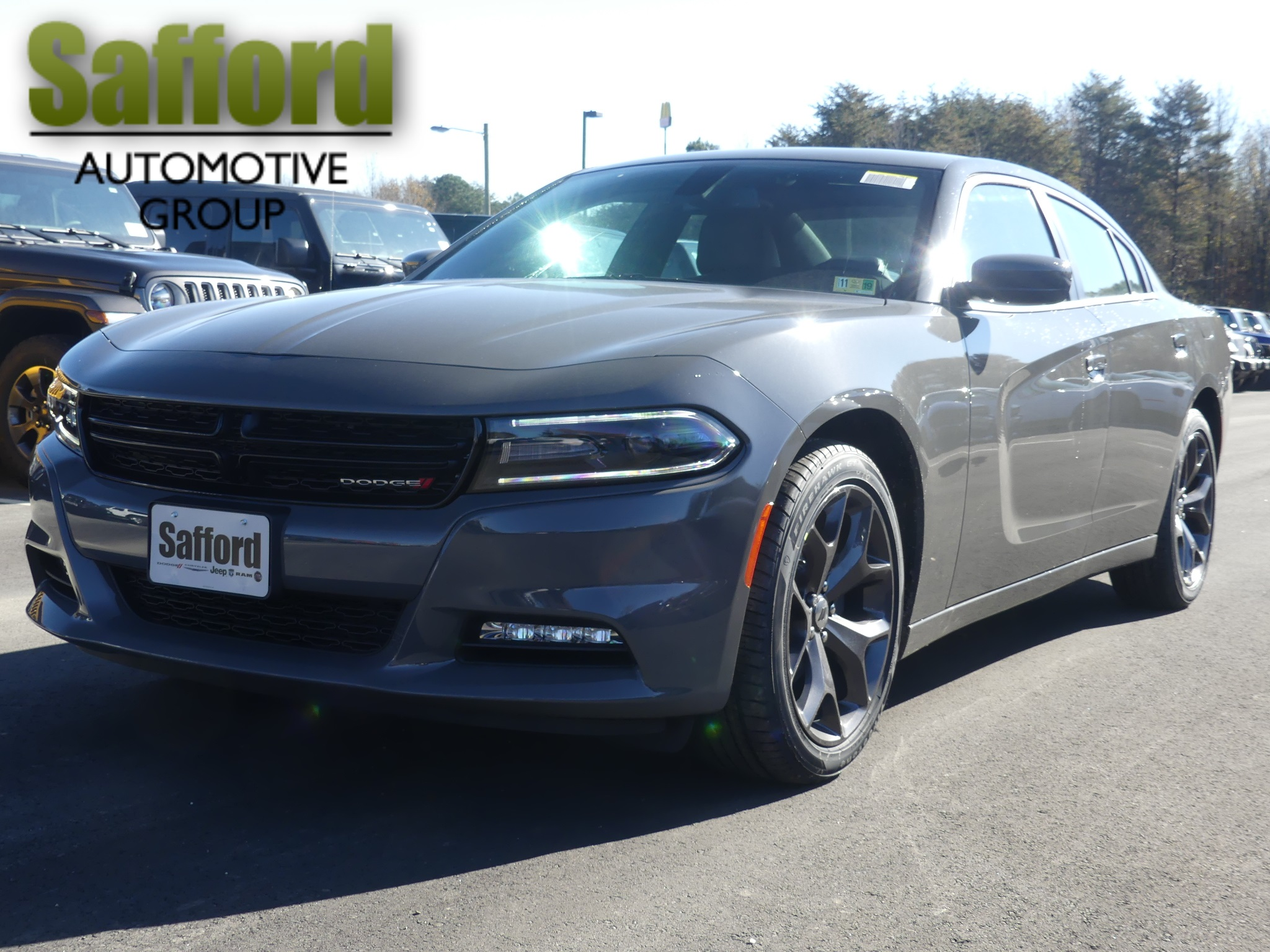 New 2019 Dodge Charger Sxt Sedan In Winchester Kh541996 Safford